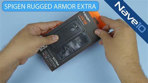 Spigen Like Rugged Armor Lg G6 capa protetora spigen rugged armor lg g6