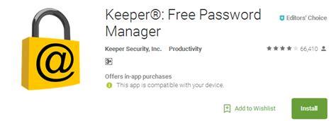 best password keeper app keeper 174 free password manager secure digital vault