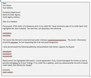 Dispute Letter To Creditor Template by 8 Step Credit Report Dispute Strategy Financial