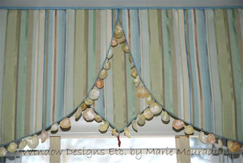 seashell curtains valances seashell window treatment the beach house guest room