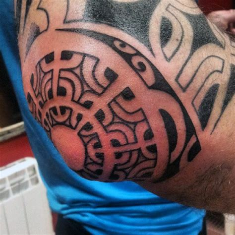 tribal elbow tattoo top 100 best tattoos for masculine design ideas