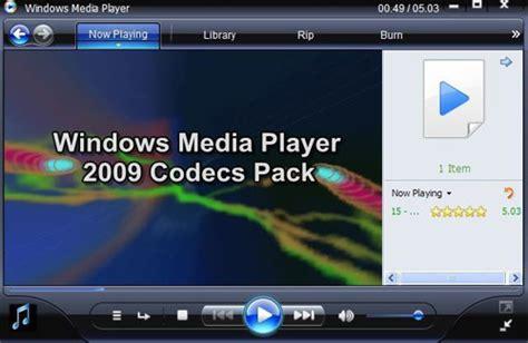 divx codec windows media player 10 windows media player 2009 all codecs pack download