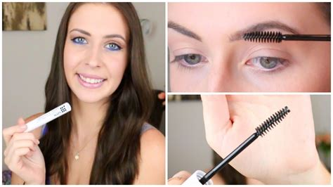 Nyx Eyebrow Gel Clear nyx freak eye brow gel review makeup minute