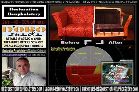 Cardiff, CA Restoration Reupholstery   Custom Furniture