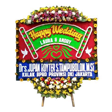 Harga Bunga Papan Happy Wedding by Bunga Papan Suka Cita Harga 750 Ribu Toko Bunga Murah