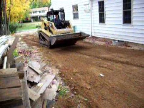 how to regrade a backyard regrading a side yard youtube