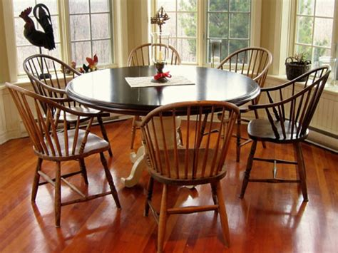 kitchen table and chairs pedestal dining
