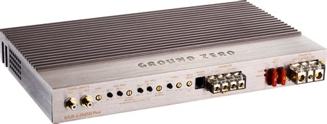 Ground Zero Gzua 6 200sq Plus 6 Channel Lifier By Cartens Store ground zero uranium 2 250sq plus 2 channel lifier midbass