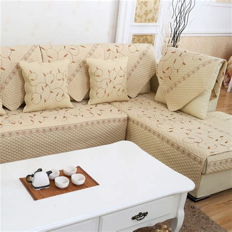 Fabric To Cover Furniture Sofa Cushion Fabric Seat Cover Antislip Sectional