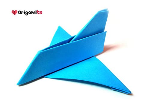 Aeroplane Origami - easy origami airplane all