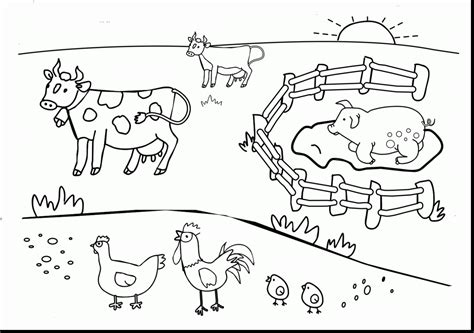 Farm Coloring Pages Free by Farm Coloring Pages To Print All Coloring Pages