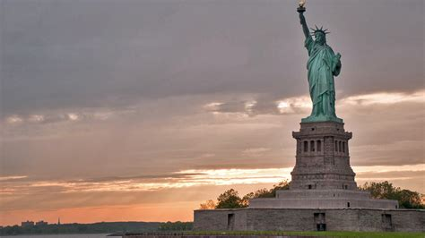 lade stile liberty statue of liberty national park foundation