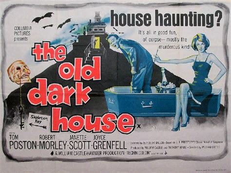the old dark house the old dark house 1963 hammer horror b movie posters