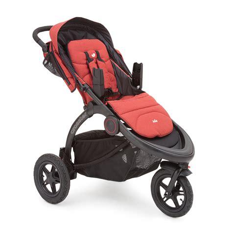 joie crosster 3 wheeler pushchair stroller rust buy at