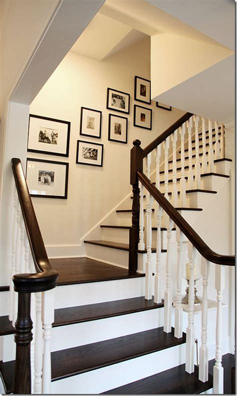 staircase wall decor ideas very similar to staircase gallery wall