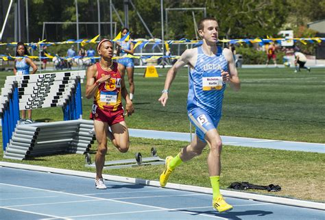 track results ucla track and field goes up against usc with mixed results daily bruin