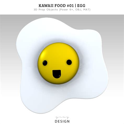 Home Design Story Update Free 3d Download Kawaii Food Cute Egg Model