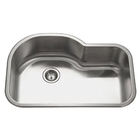 32 Inch Stainless Steel Undermount Offset Single Bowl Stainless Steel Undermount Kitchen Sinks Reviews