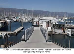 the press room santa barbara phase one upgrades completed at santa barbara marina bellingham marine
