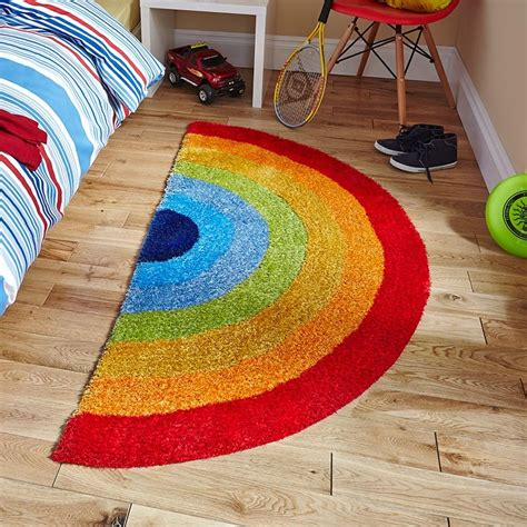 rainbow home decor fantastic rainbow rug ideas to make your home livelier