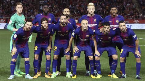 kit jugadores de ftbol bara vs madrid 10p barcelona 187 plantilla 2017 2018