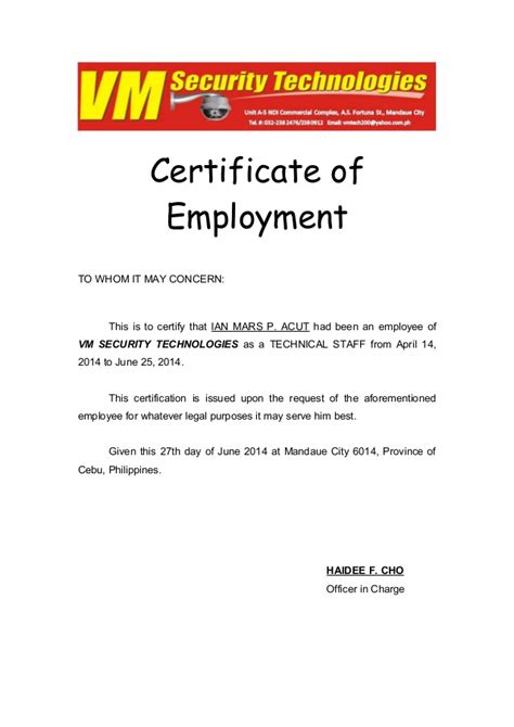 Quality Certificate Letter Quality Certification Letter Best Free Home Design