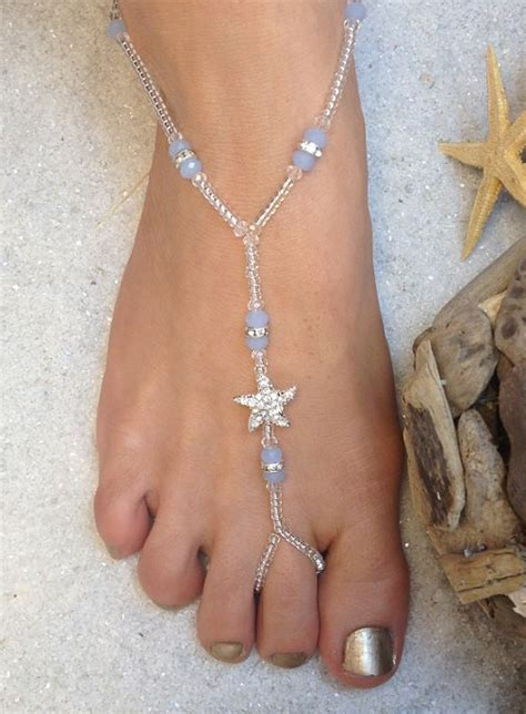 etsy barefoot sandals items similar to starfish wedding barefoot sandals