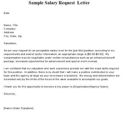request letter for promotion and increment