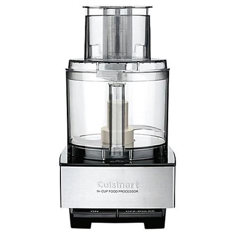 bed bath and beyond cuisinart cuisinart 174 custom 14 cup food processor bed bath beyond
