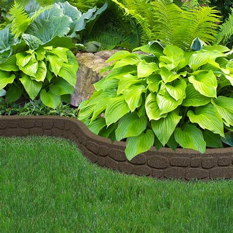 122m recycled rubber edging flexi curve rockwall h9cm on sale