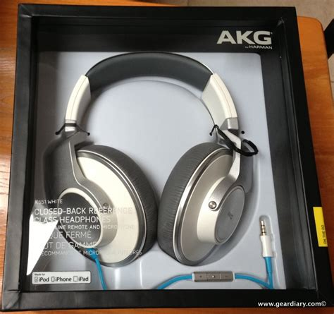 Headphone Akg K551 akg k551 the ear headphone review