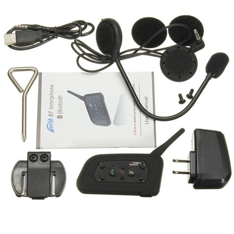 Headset Bluetooth Di Medan k 246 p 1000m motorcykel hj 228 lm intercom headset med bluetooth