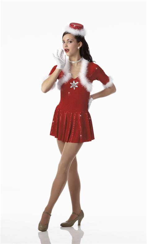 details about hey santa skating dress mrs claus costume or hat sizes