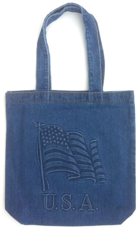 Target Basic Denim Canvas Tote by Embossed Denim Or Canvas Tote Bag Tyca Corporation