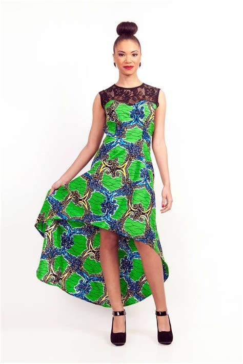 top african fashion ankara kitenge african women dresses african lace top african print high low dress african prints