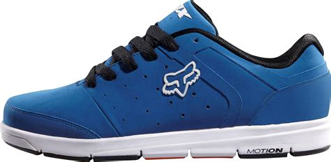 new 2012 fox racing motion atmis shoes blue white athletic