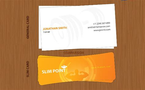 slim business card template 22 business cards free premium psd ai format