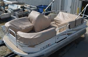 Seat Covers For Pontoon Boats Pontoon Custom Fit Covers