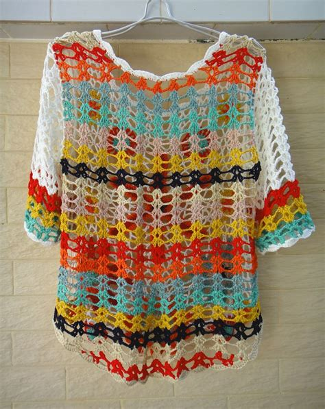 Sweater Rajut Handmade 1409 Best Images About Crochet Sweaters Jackets On