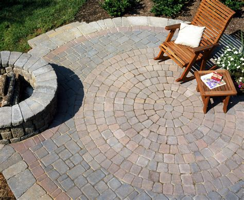 gilbert concrete paver patio installation az landscape