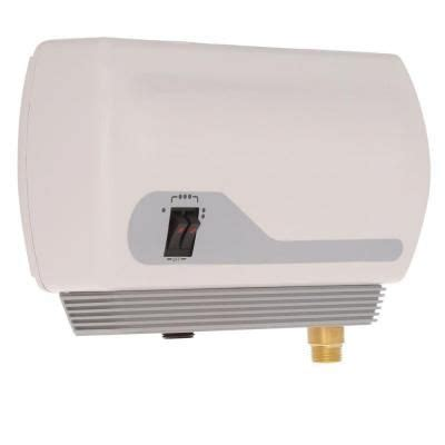 on demand under electric water heater atmor 13kw 240 volt 2 25 gpm electric tankless water