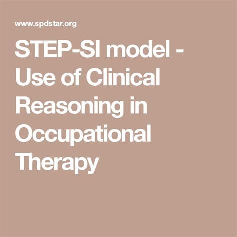 clinical and professional reasoning in occupational therapy books 17 best images about spd sensory processing on