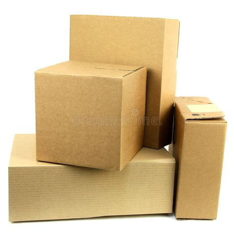 pile  boxes iii stock photo image  card pack fedex