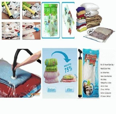 Bag Penyimpan Pakaian vacuum storage bag penyimpan barang praktis harga jual