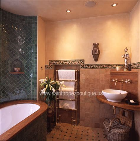 moroccan style bathroom moroccan bathroom design
