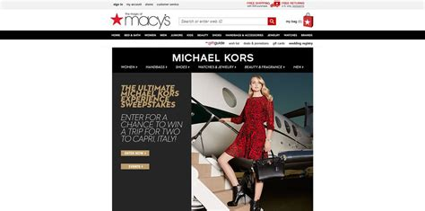 Department Store Sweepstakes - macy s the ultimate michael kors experience sweeptakes macys com michaelkors