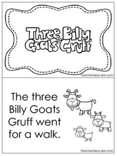 printable version of the three billy goats gruff 3 billy goats gruff printables pictures of the billy