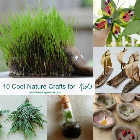 nature crafts for 10 cool nature crafts for new age