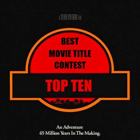 best titles vote best title contest top 10 bluecat screenplay