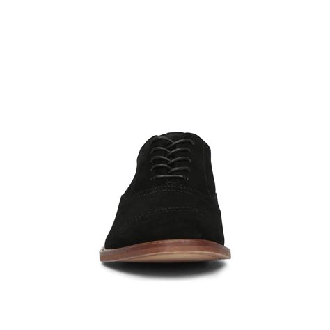 Handmade Mens Oxford Shoes - handmade mens oxford black suede leather shoes formal